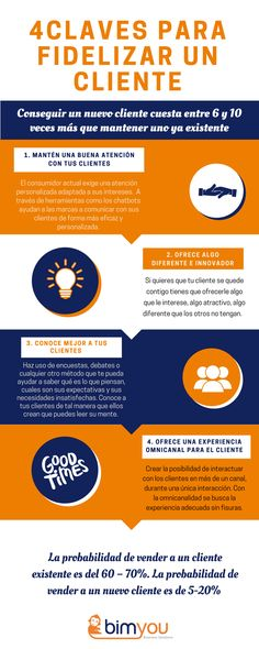4 claves para fidelizar a tus clientes Starting A Business, Business Planning, Business Tips, Inmobiliaria Ideas, Weird Dreams, Need Money, Community Manager, Time Management, Earn Money