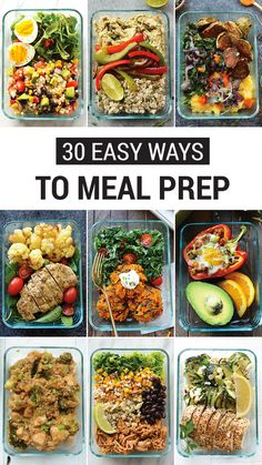 If you New Year's resolution is all about organization, make sure to check out this collection of 30 Easy Ways to Meal Prep. These quick, delicious, and healthy recipes are sure to inspire.