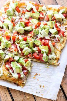 Skinny Avocado Pizza // HAATI CHAI