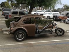 """Volkswagen motor bug cycle...only way I will let Zach get a """"motor cycle"""" lol"""