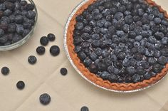 Fresh Blueberry Pie -