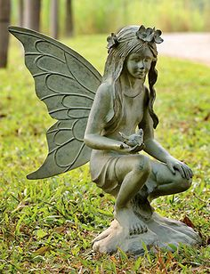Fairy Diana Garden Sculpture - Ships Separately  http://www.efairies.com/store/pc/Fairy-Diana-Garden-Sculpture-Ships-Separately-52p3375.htm  $375.00