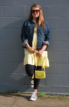 Fashion R&D: Yellow, Leggings, Converse and Neon