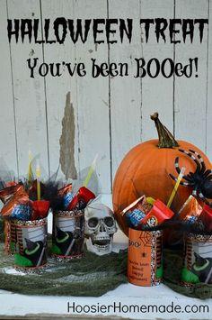 Halloween Treat: You've been BOOed!