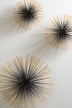 Boom Wall Sculpture, $147.50, available at Dwell Studios /// 7 Tips To Help Gussy Up Your Living Space #refinery29