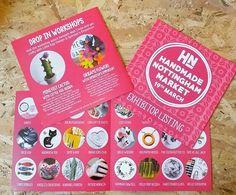 regram @hnmarkets So excited for our exhibitor leaflets! Hope you guys like them!  #hnmarkets #hiddenNottingham #itsinnottingham #shoplocal #buyhandmade #supportindependent #hiddennottm #craftmarket #springmarket #designermakers