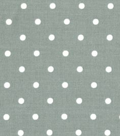 Quilter's Showcase™ Cotton Fabric-Dots Gray/White