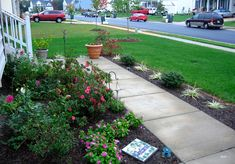 Landscapes Ideas Sloped Front Yard Landscaping Ideas Small