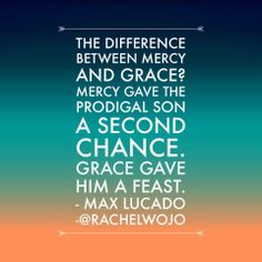 His grace is more than enough.