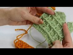 The waffle stitch is a very popular stitch used in a wide variety of different projects. Make a waffle stitch crochet and get a tutorial with help from a crochet expert in this free video clip. Crochet Afghans, Crochet Motifs, Crochet Stitches, Crochet Patterns, Crochet Geek, Crochet Yarn, Crochet Hooks, Crochet Waffle Stitch, Crochet Videos