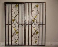 Iron Window Grills online India from Indian vendors at RollingLogs. Iron window grill fabricate works of premium quality and are highly durable and completely rust proo Home Window Grill Design, Iron Window Grill, House Window Design, House Gate Design, Iron Windows, Folder Design, Simple Designs, Grilling, Interior Design