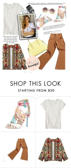 """Untitled #1432"" by zayngirl1dlove ❤ liked on Polyvore featuring J.Crew and Kate Spade"