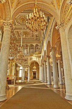 The Hermitage Museum, formerly The Winter Palace, Saint Petersburg Russia