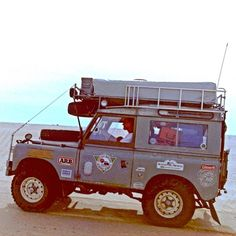 Throwback Friday: Crossing the Sahara in a 1965 Land Rover. Feb She is still running today. Land Rover Overland, Land Rover Defender, Defender 90, Classic Chevy Trucks, Classic Cars, Land Rover Series 3, Range Rover Classic, Off Road, Expedition Vehicle