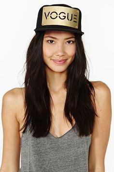 Vogue Cap - Gold