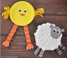 hello, Wonderful - 11 CREATIVE PAPER PLATE CRAFTS