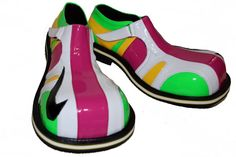 Professional Clown Shoes Costume Supplies - New Model- by ClownMart