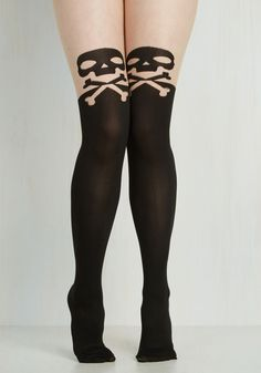 Make No Crossbones About It Tights