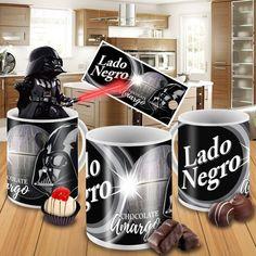 Caneca em Porcelana Personalizada Lado Negro