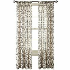 Curtain panels, Turning and Curtains on Pinterest