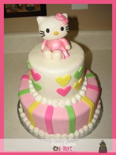 fanci cakes u0026amp more hello kitty baby shower cake hello kitty baby shower ideas 1200x1600