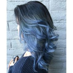 Crazy Hair Colour ❤ liked on Polyvore featuring hair