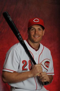Chris Heisey, Nats new addition to the bench.