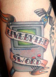 My Legend of Zelda tattoo #tattoo #zelda