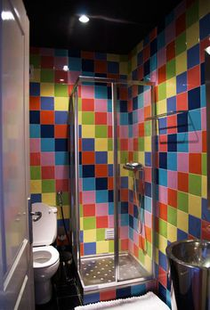 More Rainbow Tile.