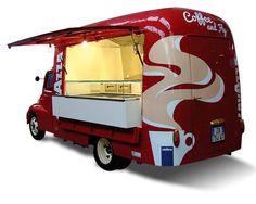 Food Truck Fiat 615 - Lavazza