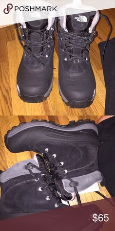 North Face Snow Boots Black snow boots worn 3 times no flaws The North Face Shoes Boots