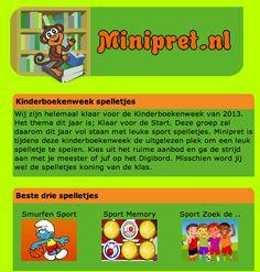 Kinderboekenweek 2013 op Minipret!