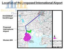 Location Of The Proposed International Airport. #Dholera #DholeraSIR #DholeraSmartCity #Gujarat