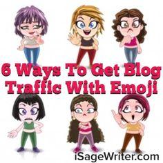 Emoji Blog Traffic  #YoreeKoh #eMarketer #iEmoji #BlogTraffic #WebSiteTraffic #Branding #ReBranding #MarketWatch #Bloggers #Emoji #Snaps