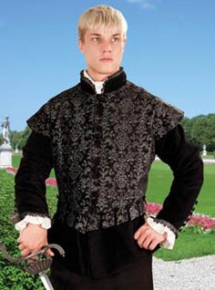 The Aramis Doublet - NEW!: Renaissance Costumes, Medieval Clothing, Madrigal Costume: The Tudor Shoppe