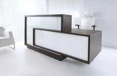 Design Ideas For Contemporary Reception Desk How to Build a Reception Desk with Standard Height, Inexpensive Reception Desk Design, Custom Reception Desk