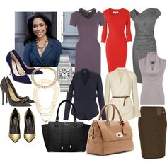 Jessica+Pearson+Suits | fashion look from February 2013 featuring Matthew Williamson dresses ...