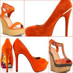 Color Coordinate: Orange Shoes