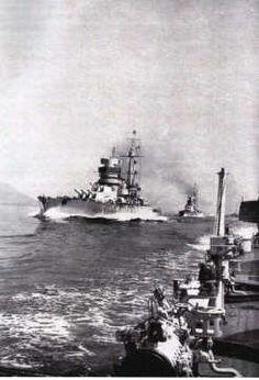 Le corazzate Cesare e Cavour