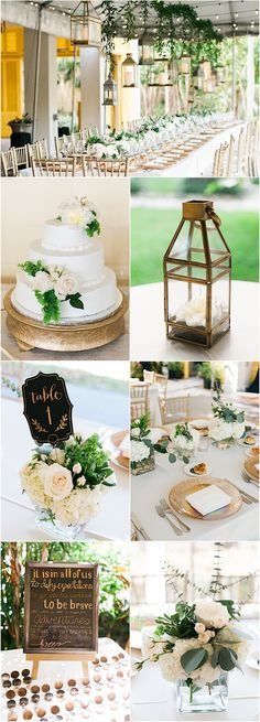 42 new ideas for wedding reception centerpieces gold bridal shower Reception Table Decorations, Wedding Reception Centerpieces, Wedding Reception Venues, Bridal Shower Decorations, Wedding Decorations, Wedding Speeches, Centerpiece Ideas, Mexican Bridal Showers, Green Bridal Showers