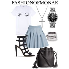Street Chic 2015 by monaels on Polyvore featuring polyvore, fashion, style, H&M, Zara, Versace, David Yurman and Henri Bendel