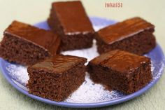 Czech Recipes, Brownies, Deserts, Food And Drink, Yummy Food, Sweets, Candy, Meals, Cookies