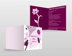 #Einladung #Pink #gestaltung #design #AramDesign
