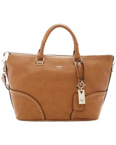 649ca90a719c Guess VG620706 Juliana Satchel Purse Handbag Cognac Brown MSRP  118.00   GUESS  Satchel Satchel Purse