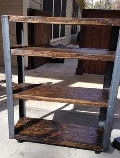 Rolling Cart with Casters | Do It Yourself Home Projects from Ana White