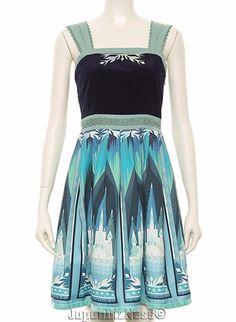 New Japan Secret Honey Disney LE Frozen Blue Allendale Winter Tapestry Dress #SecretHoney