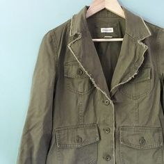 I just discovered this while shopping on Poshmark: Army Style Jacket. Check it out! Price: $28 Size: M