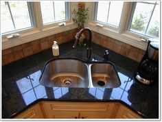 25 Corner Kitchen Sinks That Gives You Space