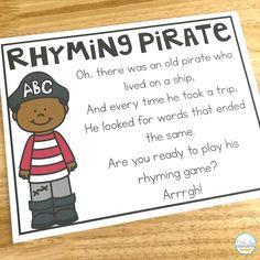 How To Teach Rhyming in Kindergarten - Natalie Lynn Kindergarten