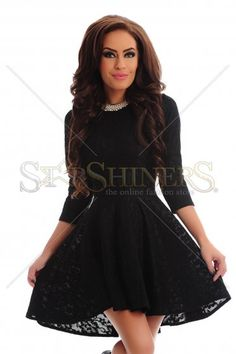 Kindled Flavour Black Dress Dusty Pink, Clothing Items, Skater Skirt, Formal Dresses, Skirts, Clothes, Shopping, Collection, Black